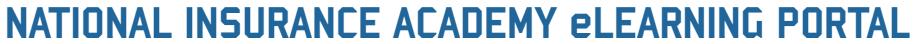 National Insurance Academy eLearning Portal